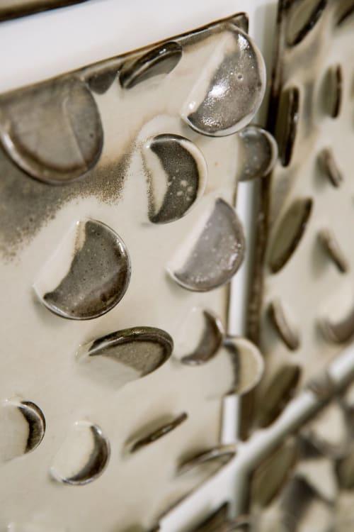 Sculptures by Len Carella seen at John K. Anderson Design, San Francisco - 'Dots' Installation