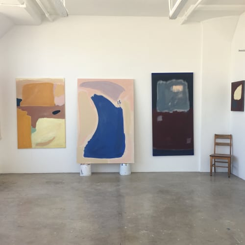 Paintings by Sara Marlowe Hall at Private Residence, Los Angeles - Under The Sun