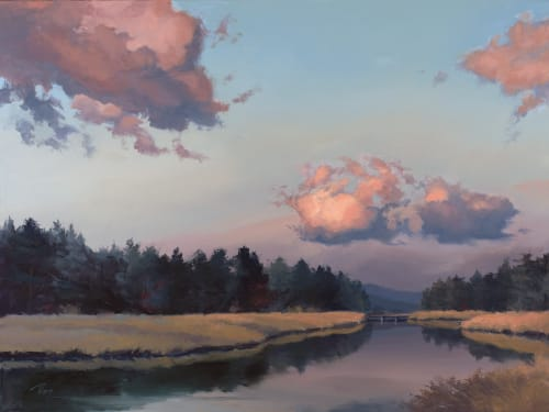 Paintings by +David McCamant seen at Private Residence - Reno, NV, Reno - Truckee in Twilight