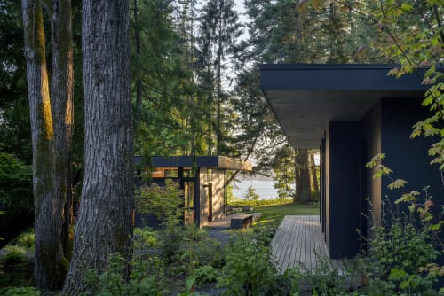 Architecture by Wittman Estes seen at Hood Canal - Hood Cliff Retreat