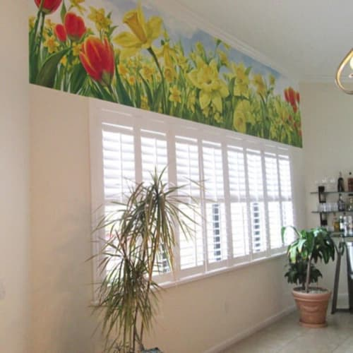 Murals by Murals by Georgeta (Fondos) seen at Private Residence, Delray Beach - Indoor Mural