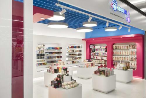 Interior Design by Egue y Seta seen at Condoms & Co, L'Hospitalet de Llobregat - Condoms & Co