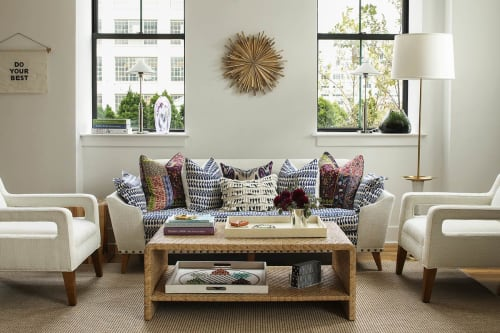 Interior Design by Jennifer Connell Design at Private Residence, New York - Bohemian Rhapsody in Trendy Tribeca