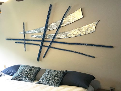 Sculptures by Jon Kamrath seen at Private Residence, Mahtomedi - Wall Art