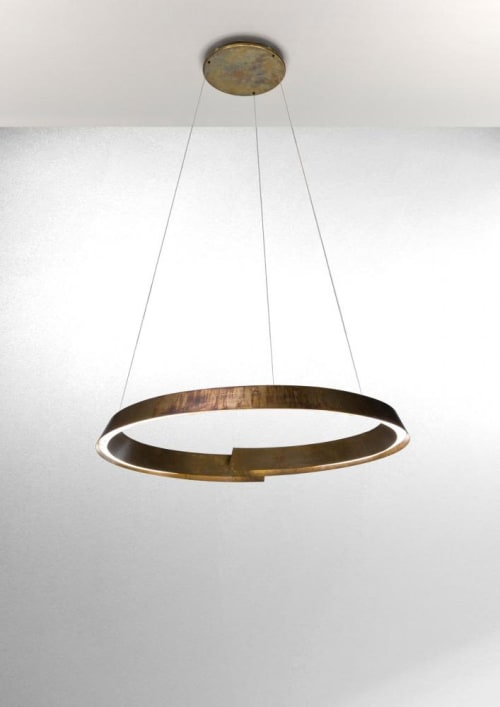 Pendants by Laurameroni Design Collection seen at Private Residence, Bellagio - Swirl