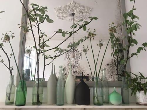 Vases & Vessels by Sophie Cook Porcelain seen at Private Residence, London - Ceramic Bottles