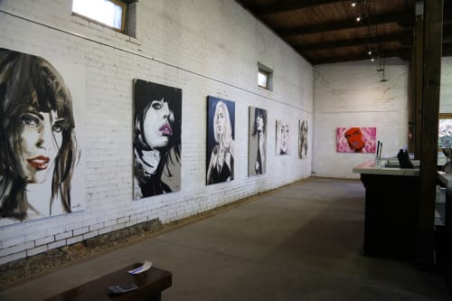 Art Curation by Michel Canetti seen at Victoria - Yering Station Winery