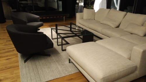 Tables by Arostegui Studio seen at Private Residence, Victoria - Solero coffee table