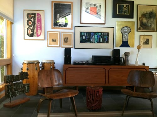 Furniture by Jason Lees Design seen at Private Residence, Portland - Credenza Art