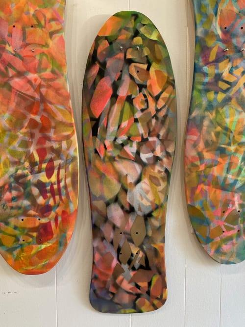 Wall Hangings by Renee DeCarlo seen at The Drawing Room, San Francisco - Skatedecks: NEW Clusters