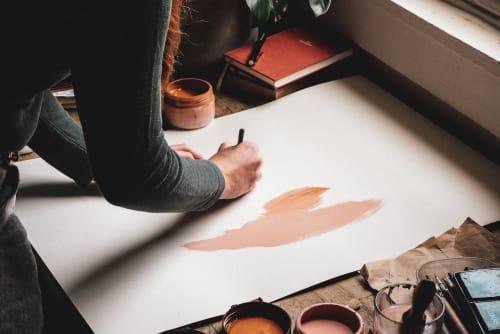 Dancing Fox - Paintings and Apparel