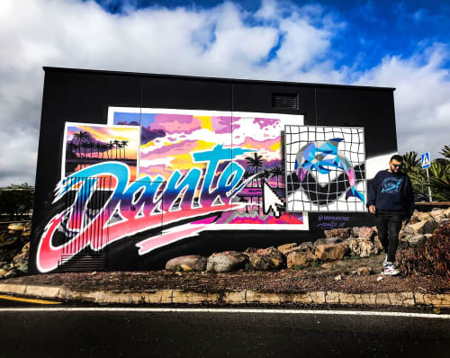 Dante Arcade - Street Murals and Murals