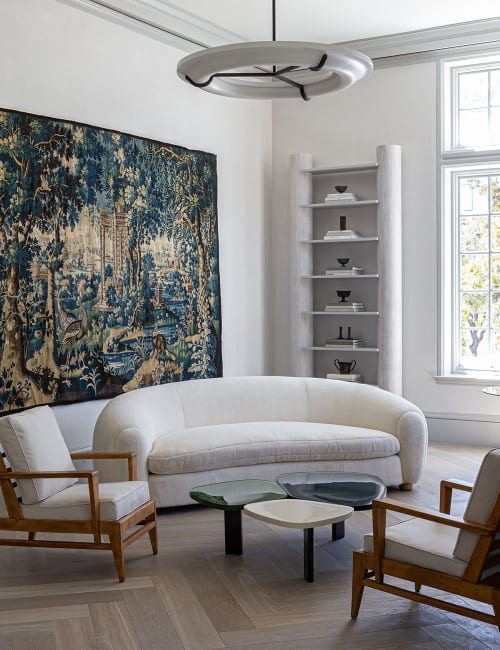 Rugs by FJ Hakimian, Inc. seen at SF Decorator Showcase 2019, San Francisco - Antique Flemish Tapestry