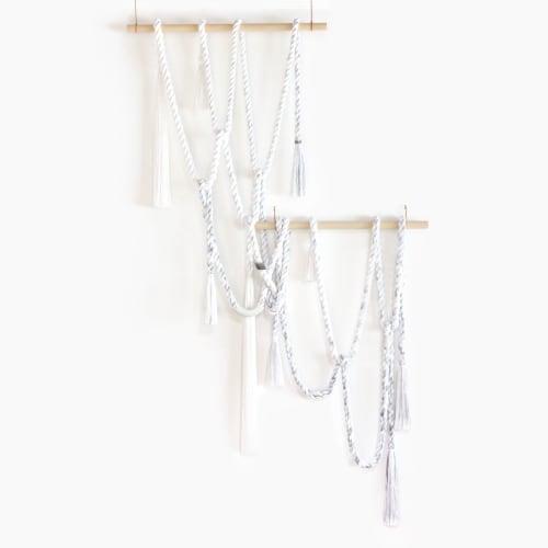 Wall Hangings by Cindy Hsu Zell - Waterfall