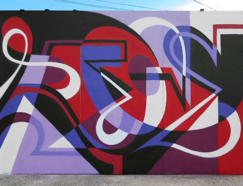 Murals by MATT W. MOORE seen at Portland, Portland - MWM Letterforms.