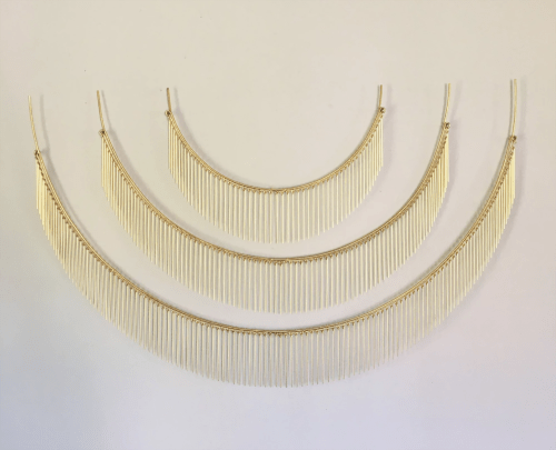 Art & Wall Decor by Beth Naumann seen at Pinhole Coffee, San Francisco - Brass Wall Sculpture