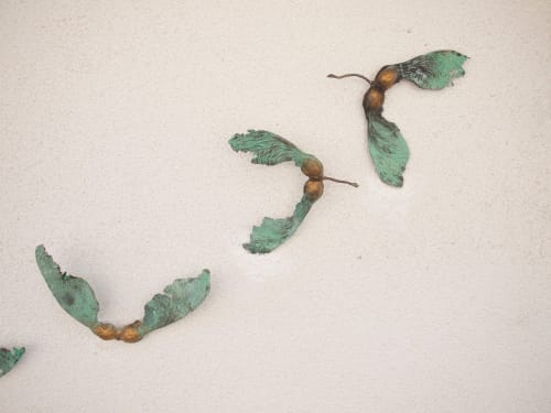 Sculptures by Patrick haines sculptor seen at Private Residence - Dispersal