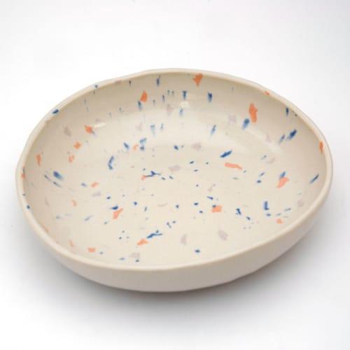 Tableware by niho Ceramics seen at Creator's Studio, Barcelona - Terrazo bowl