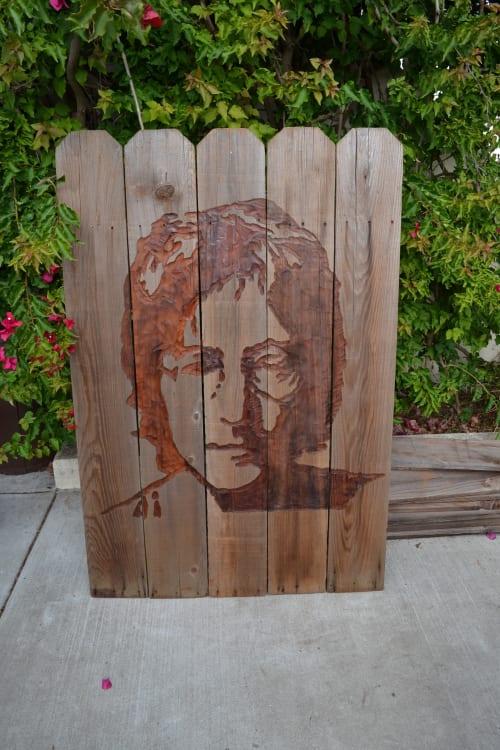Wall Hangings by Lutz Hornischer - Sculptures & Wood Art seen at Neyborly - Poet's Corner, Berkeley - Wooden Wall Art