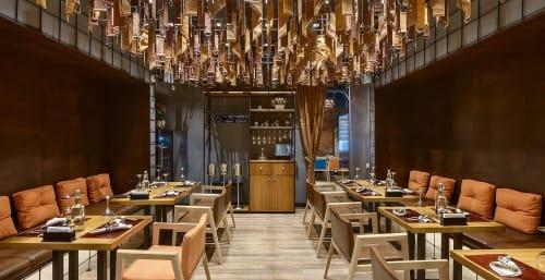 Interior Design by YUDIN Design seen at Bull Butcher and Wine, Zaporizhzhia - Interior Design