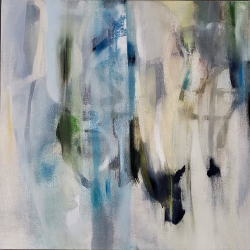Paintings by Anne C. Faber seen at Private Residence, Chicago - Quiet Stirs c2020
