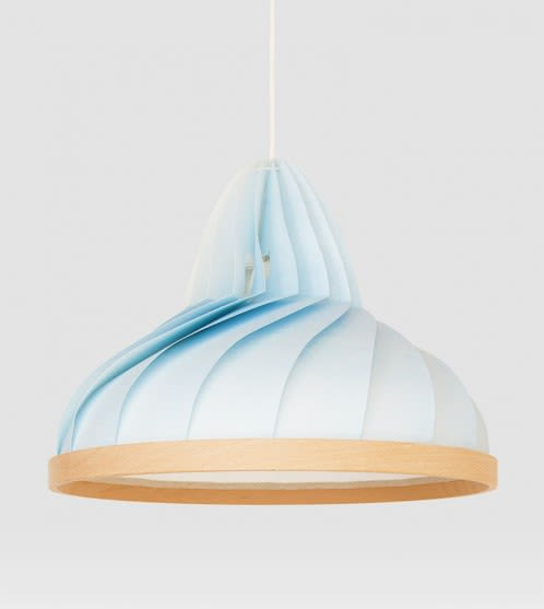 Pendants by Studio Snowpuppe seen at Van Nelle Factory BV, Rotterdam - Wave Lamp