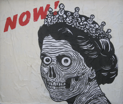 Street Murals by Ezra Li Eismont seen at Polk St, San Francisco, San Francisco - Zombie Queen