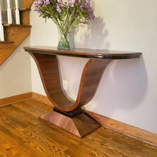 Tables by Russell Kieselbach seen at Private Residence, Hudson - Art Deco Table