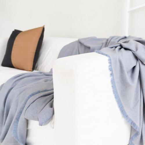 Linens & Bedding by Studio Variously seen at Pontiac, Pontiac - Boro Throw