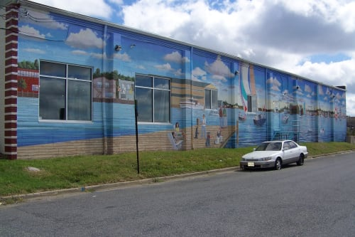Cindy Fletcher-Holden - Murals and Art