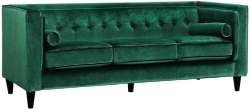 Couches & Sofas by Meridian Furniture seen at The Glass House Company, Orlando - Taylor Velvet Sofa