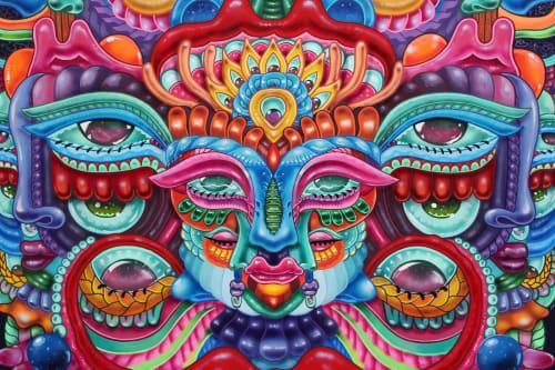 Amara Por Dios - Street Murals and Murals