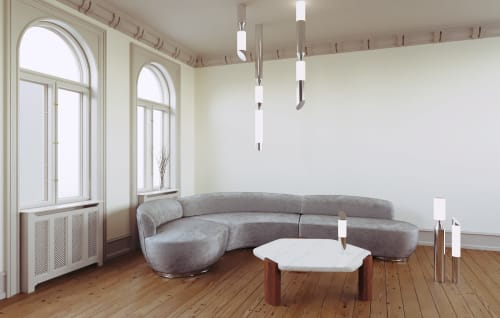 Chandeliers by Ovature Studios seen at Private Residence, Stockholm - Gwen Chandelier