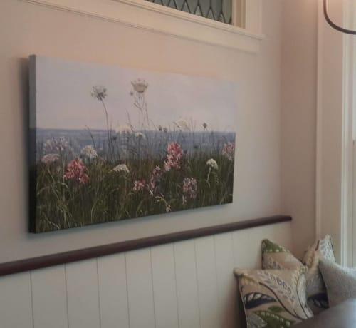 Paintings by Kathleen Krishnan seen at Private Residence, Minneapolis - Summer Field