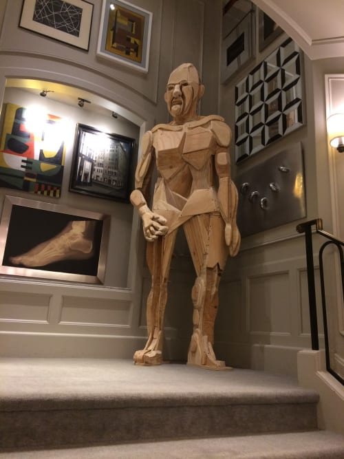 Sculptures by Sean Slaney seen at Bergdorf Goodman, New York - Bergdorf Woodman