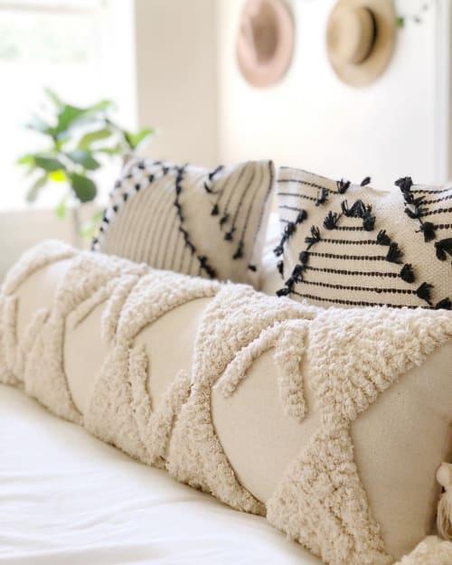 Pillows by Coastal Boho Studio seen at Destin, Destin - Sand Dune Lumbar Pillow