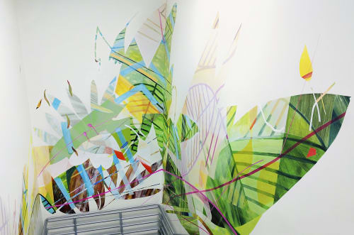 In Full Boom   Murals by LC Studio Tutto   Coursera in Mountain View