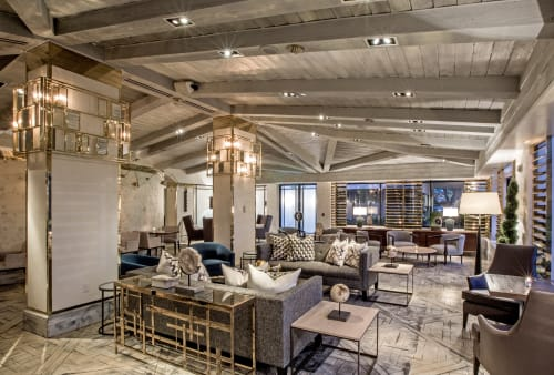 Interior Design by Puccini Group at The London West Hollywood at Beverly Hills, West Hollywood - Interior Design