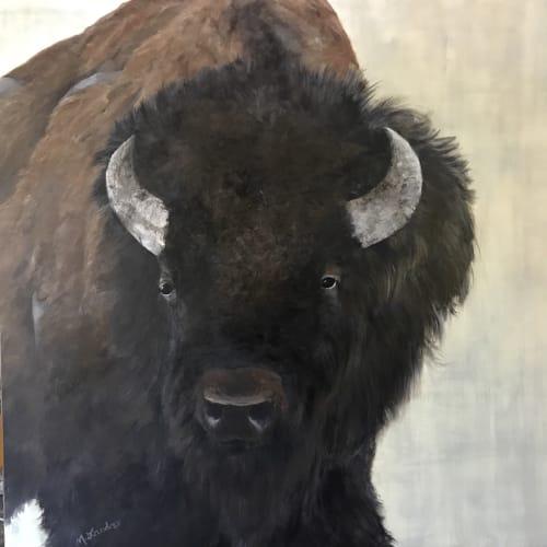 Prairie Boss | Paintings by Marilyn Landers