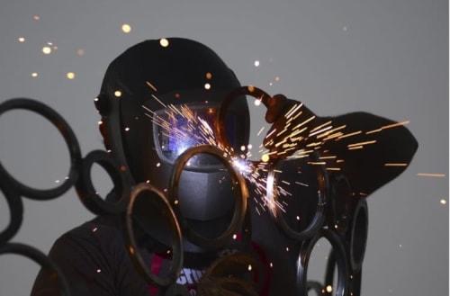 Public Sculptures by Mark Americo Wentz seen at Alpharetta, Alpharetta - Crescendo