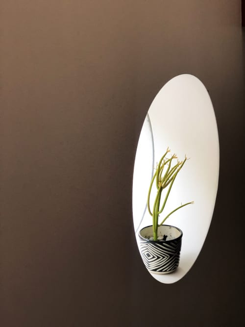 Plants & Flowers by SampleHAUS seen at Private Residence, Los Angeles - Small Zulu Planter