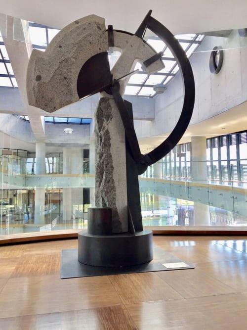 Public Sculptures by Francisco Gazitua seen at Santiago, Santiago - Time and Life