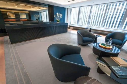 Rugs by Lucy Tupu Studio seen at New York, New York - Time-Life Building