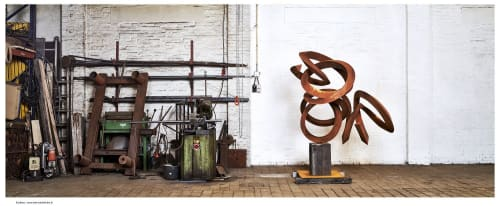 Pieter Obels - Public Sculptures and Sculptures