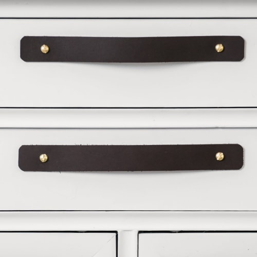 Hardware by Keyaiira | leather + fiber seen at Private Residence, Poulsbo - Leather Handle [Round End]