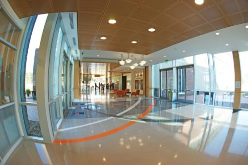 Architecture by TERRAZZCO Brand Products seen at United States - Epoxy Terrazzo Floors