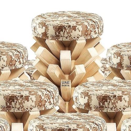 Khalid Shafar - Art and Chairs