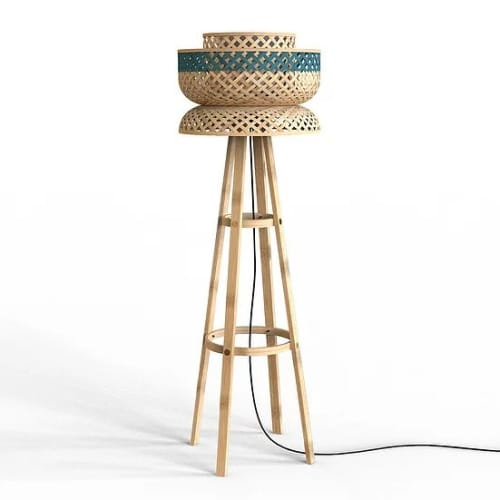 Lamps by Mianzi seen at Private Residence, New Delhi - Lotus Floor Lamp