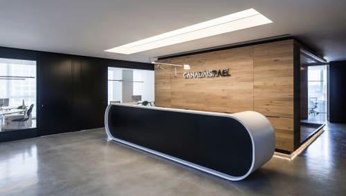 Canada Israel Offices | Lighting Design by Rama Mendelsohn Lighting Design
