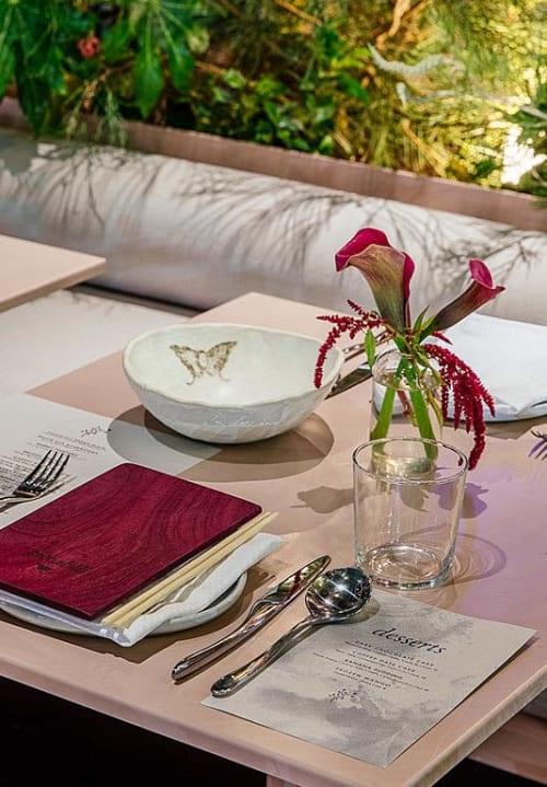 Ceramic Plates by Crazy Green Studios seen at Piccalilli, Culver City - Branded Service Ware